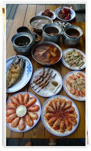 竹北鮮蝦料理-黃金海岸活蝦之家