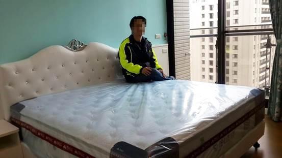 新竹獨立筒床墊-天妮絲